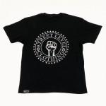 Street Level Clothing Fist Tee Black