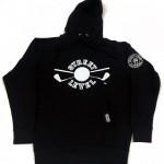 Street Level Clothing Black Golf Logo Hooded Sweatshirt