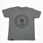 Street Level Clothing Fist Tee Gray Front