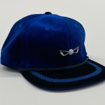Blueberry ll Velour Adjustable Golf Hat