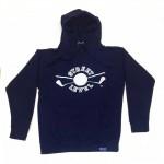 Street Level Clothing Navy Blue Golf Logo Hooded Sweatshirt